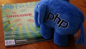 elePHPant reading php|architect